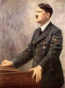 Adolf Hitler hovoří
